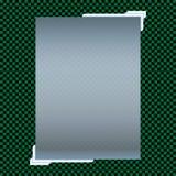 Transparente Fahnen lokalisiert Auch im corel abgehobenen Betrag Lizenzfreie Stockbilder