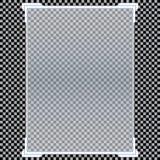 Transparente Fahnen lokalisiert Auch im corel abgehobenen Betrag Lizenzfreies Stockfoto
