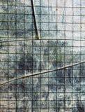 Transparente gebrochene Glasbeschaffenheit Lizenzfreies Stockfoto