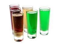 Transparente Glasschalen Lizenzfreie Stockfotografie