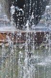 Transparente Jets von Brunnen Lizenzfreie Stockfotografie