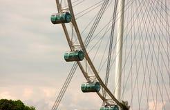 Transparente Kapseln des Fliegers in Singapur Stockbilder