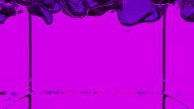 Transparente violette Farbe füllt Schirm, den Alphakanal, der wie luma Lech eingeschlossen ist 3d übertragen 5 lizenzfreie abbildung