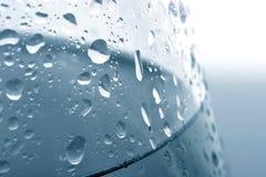 Transparente Wassertropfen Lizenzfreies Stockfoto