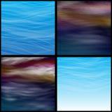 Transparente Wolken Lizenzfreie Stockfotografie