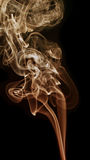 Transparented colorful cloud of smoke stock photo