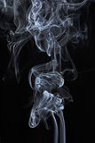 Transparented white cloud of smoke Stock Photography