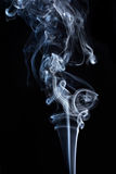 Transparented white cloud of smoke Royalty Free Stock Images