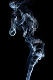 Transparented white cloud of smoke Stock Image