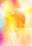 Transparenter abstrakter Hintergrund mit Platz für tex Lizenzfreies Stockbild