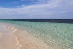 Transparenter Ozean Stockfoto