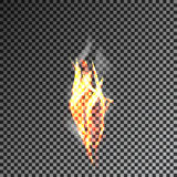 Transparenter Rauch auf dunklem Hintergrund Vektor 10eps Lizenzfreies Stockbild