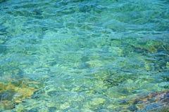 Transparenter Wasserhintergrund Lizenzfreie Stockfotografie