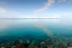 Transparentes adriatisches Meer Stockfotos
