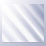 Transparentes Glas auf einem grauen Hintergrundvektor vektor abbildung