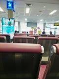 Transporation im Flughafen stockfoto