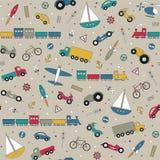 Transportów pojazdów kolekci tło Zdjęcie Stock