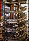 transportörspiral Arkivbild