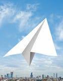 Transport écologique dans le ciel Images stock