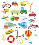 transport stock illustrationer