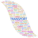 TRANSPORT. vektor illustrationer