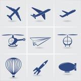 Transport aérien Images stock