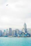 Transport aérien de Hong Kong Photo libre de droits