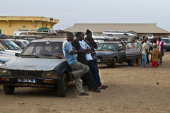 Transport in Africa Stock Image