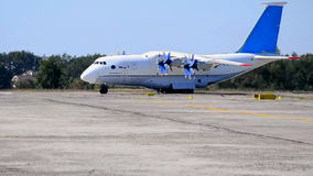An-70 transport aircraf, Stock Photo