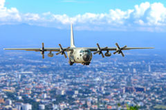 Transport aircraft Royalty Free Stock Images