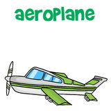 Transport of airplane vector art Stock Photography