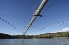 Transport-Alaska Rohrleitung Lizenzfreie Stockbilder