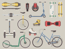 Transport alternatif de ville illustration stock
