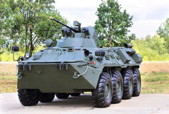 Transport armored vehicle Stock Photo