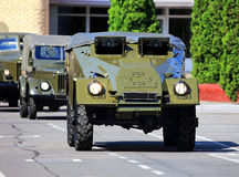 Transport armored vehicle Royalty Free Stock Images