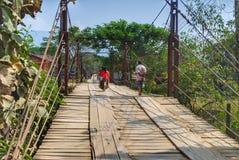 Transport au Laos Image libre de droits