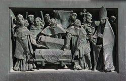 Transport av reliker Arkivbild