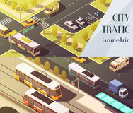 Transport Banners Set Royalty Free Stock Photography