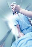 Transport barwiarski pacjent miejsce przeznaczenia Zdjęcia Royalty Free
