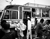 Transport, Black And White, Vehicle, Bus
