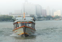 Transport boat, Bangkok, Thailand. Transport boat on Chao Phraya River, Bangkok, Thailand Stock Photo