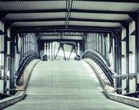 Transport bridge in europe Hamburg, Germany noone Stock Images