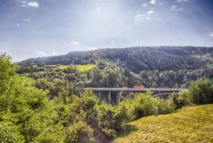 Transport bridge near Innsburg Stock Images