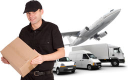 Transport business Royalty Free Stock Image