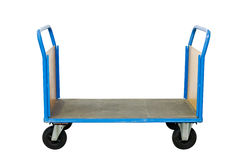 Transport cart. Isolated on white background with clipping path Royalty Free Stock Image