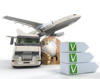 Transport checklist Stock Photos