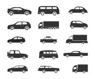 Transport clipart Satz Stockfoto