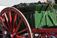 Transport of coal. Royalty Free Stock Photos