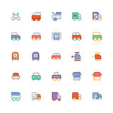 Transport Colored Vector Icons 6 Stock Photography