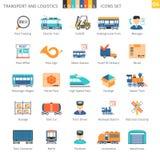 Transport Colorful Set 04 Stock Image